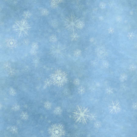 winter seamless background with snowflakes