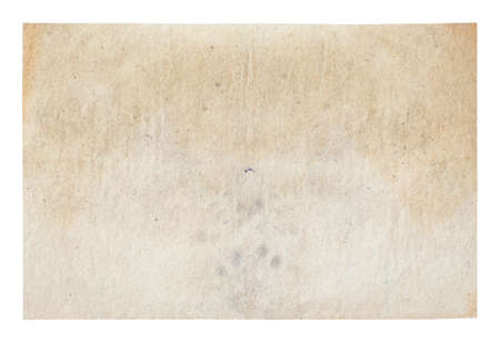 old paper isolated on white background Фото со стока - 132752433