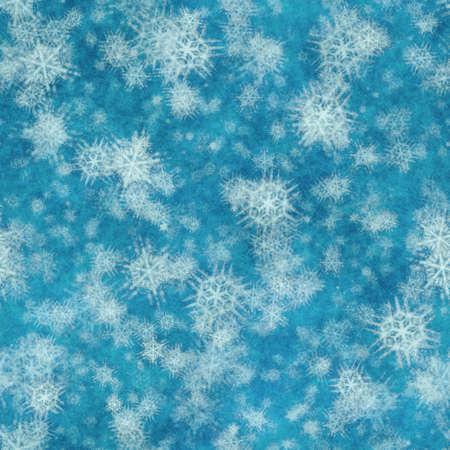 winter seamless background with snowflakes Фото со стока - 132752472