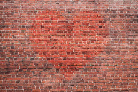 old brick wall graffiti, heart, valentines day background