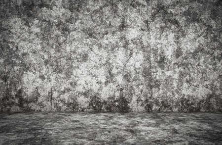 empty room with plaster wall, gray background Zdjęcie Seryjne - 157744045
