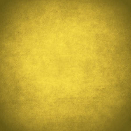 old grunge yellow paper, gold background
