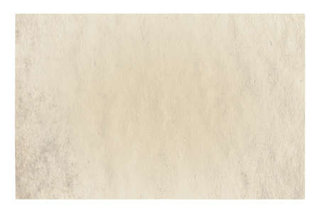 old paper isolated on white background 免版税图像