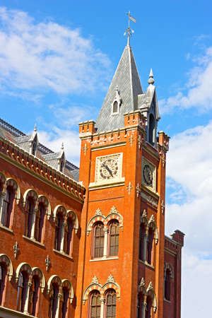adolf: Historic building of The Charles Sumner School in Washington DC, USA. The building was designed by prominent Washington architect Adolf Cluss.
