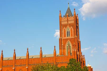 immaculate conception: Immaculate Conception Church in Washington DC, USA. Catholic church in Shaw neighborhood of Washington DC.