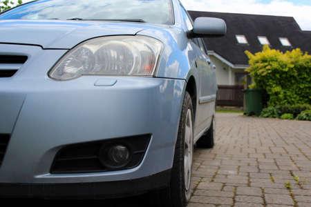 hatchback: Blue Hatchback
