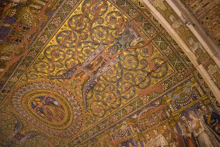 mosaic: Church Mosaic Stock Photo