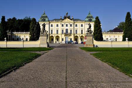 The Branicki Palace - Bialystok, Poland