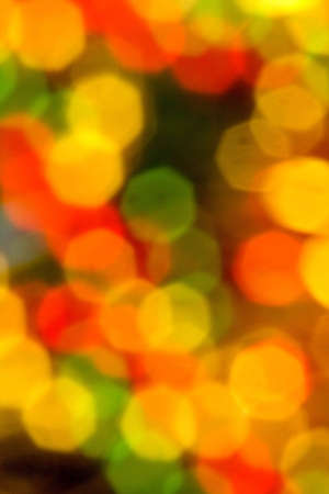 Out of focus lights abstract Stock Photo