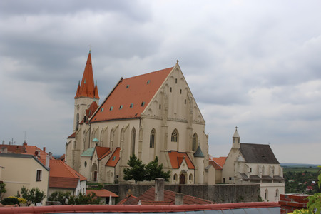 St. Nicholas Church and St. Wenceslas chapel, Znojmo, Czech Republic