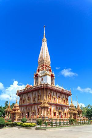 chalong: Wat Chalong in Phuket Stock Photo