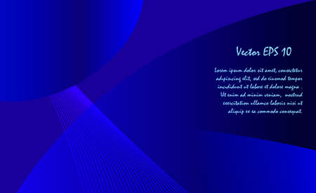 background cover: Abstract dark blue background for designer