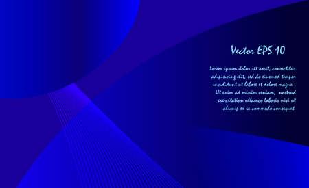 Résumé fond bleu foncé pour le créateur Vecteurs
