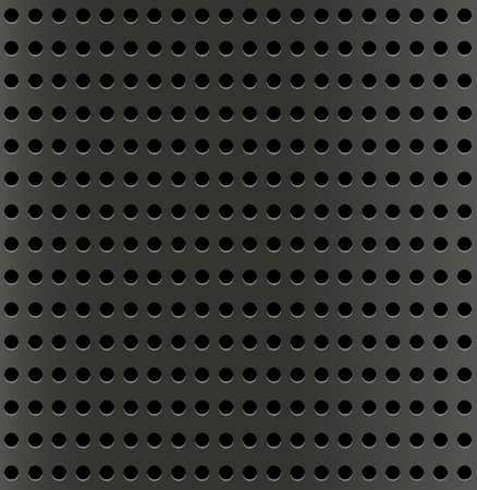 lathe: Seamless wallpaper - perforated metal texture