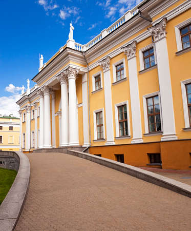 constructed: the ancient palace Rumyancev and Paskevich constructed in the XVIII century . Gomel, Belarus