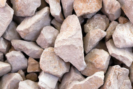 sharpness: the small stones put together. small depth of sharpness