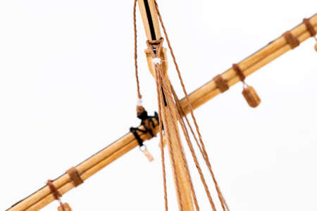 ketch: the part of model of the ship made of a tree.