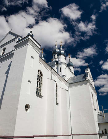 reverent: Rural Catholic Church, located on the territory of Belarus