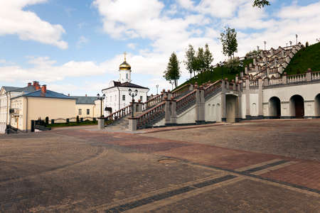 pious: a small Orthodox church located on the territory of the Republic of Belarus