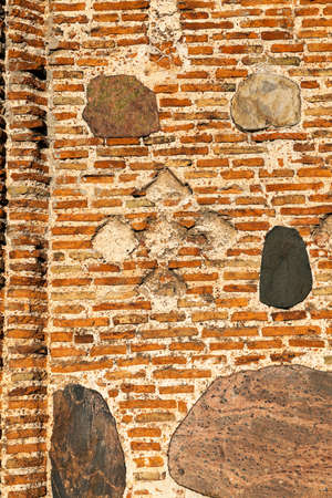 12th century: photographed close-up of the Orthodox Church, located in Grodno, Belarus, the church of the 12th century