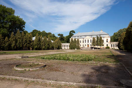 crumbling: abandoned crumbling ancient  in the village Svyatsk, Belarus,