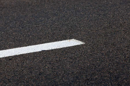 photographed markings on the road, which regulates the movement of participants,