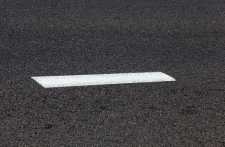 markings: photographed markings on the road, which regulates the movement of participants,