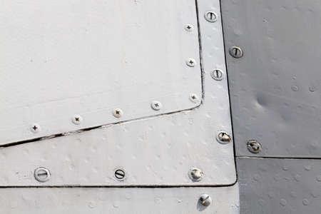 metal body aircraft Stock Photo