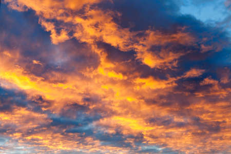 reveille: the sky at sunset