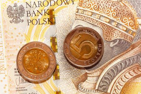zloty: Polish Zloty, close-up