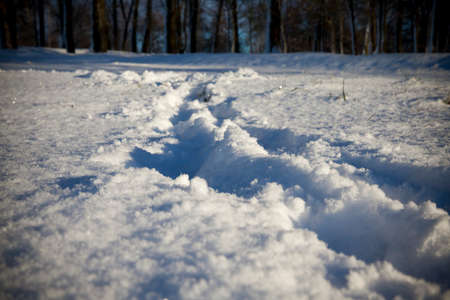 dint: After snowfall