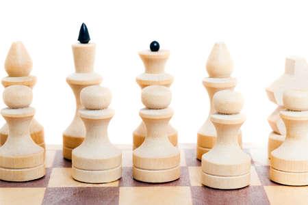 chequer: Black and white chess