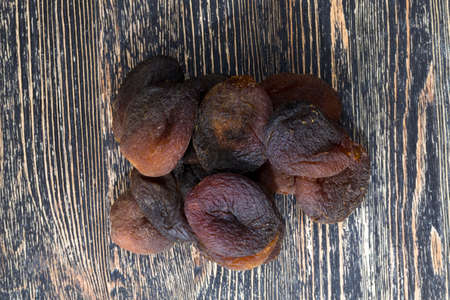 dehydrated dried ripe apricots, the traditional sweetness to the East, healthy food dried fruits