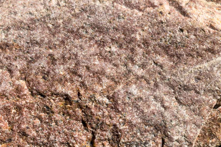 the structure of a large stone having several different colors, close - up of this multi-colored stone with its special structure