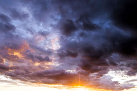 majestic and gloomy clouds 版權商用圖片