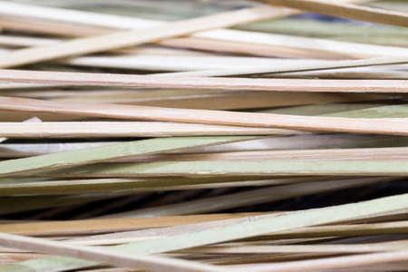 ordinary bamboo sticks