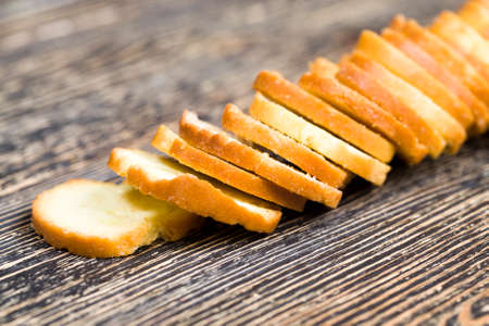 thin fried rye crackers with spices