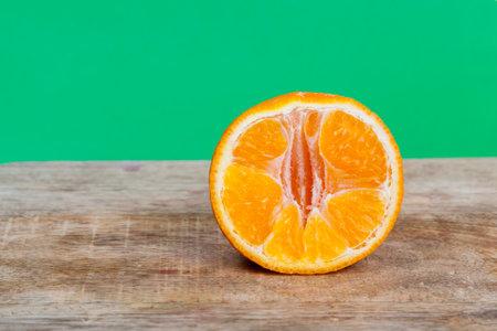 sweet orange tangerine 스톡 콘텐츠