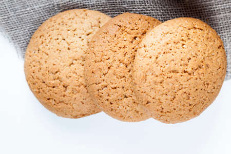 not sweet dry and crunchy cookies 스톡 콘텐츠
