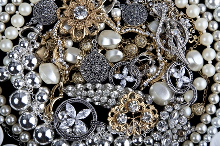 Jewelry. Background photo
