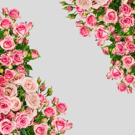 Schöne Rose-Blumenstrauß-Blumen-Hintergrund