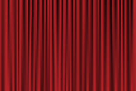 famous actor: Vector red background looking like curtain Illustration