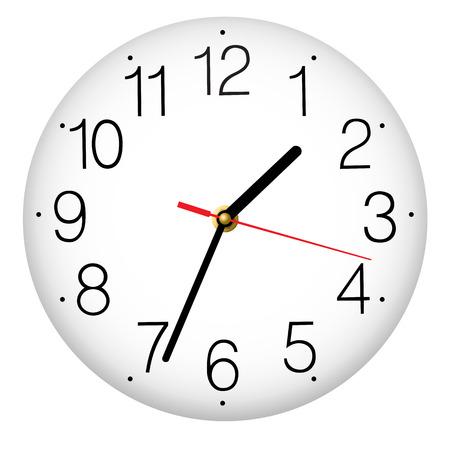 round: Classic round wall clock