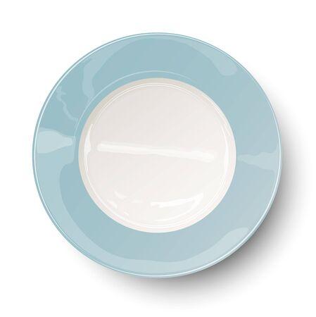 empty plate: Empty plate Illustration