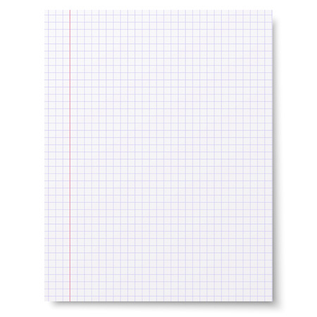 notebook paper: Notebook squared paper background