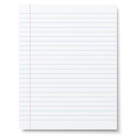 notebook paper: Notebook lined paper background