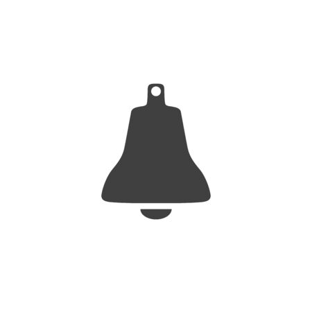 Bell icon isolated on white background Illustration