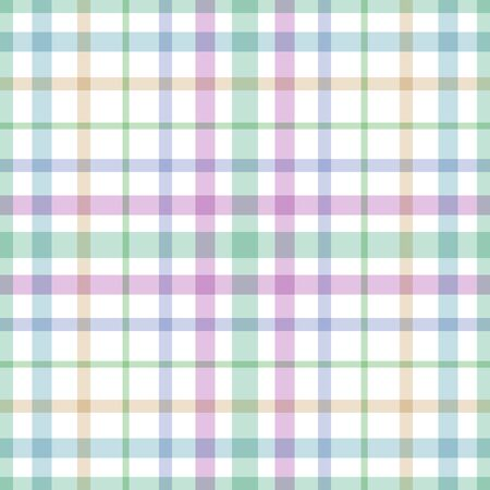 Seamless background consisting of pastel color stripes, looking like a kitchen tablecloth