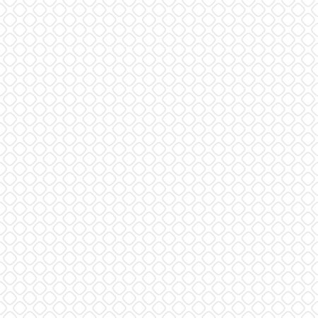 Seamless abstract geometric pattern made of light gray elements placed on white background  矢量图像