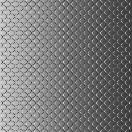 Vertically seamless background looking like a metal plate with notches. Pattern for creating a vertical infinite strip. Patterns should be placed above or below each other.